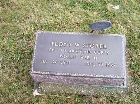 STORER, FLOYD W. - Highland County, Ohio | FLOYD W. STORER - Ohio Gravestone Photos