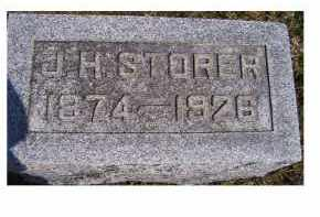 STORER, J. H. - Highland County, Ohio | J. H. STORER - Ohio Gravestone Photos
