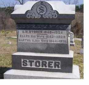 STORER, S. M. - Highland County, Ohio | S. M. STORER - Ohio Gravestone Photos