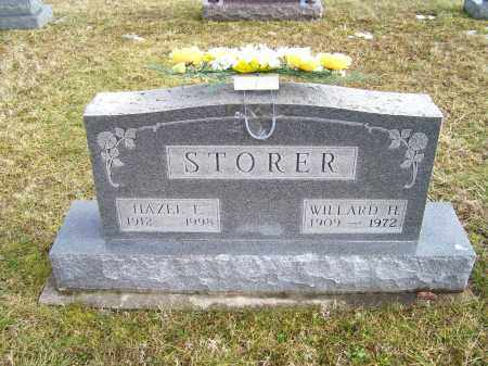 STORER, WILLARD H. - Highland County, Ohio | WILLARD H. STORER - Ohio Gravestone Photos