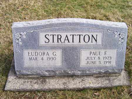 STRATTON, PAUL E. - Highland County, Ohio | PAUL E. STRATTON - Ohio Gravestone Photos