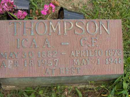 CASE THOMPSON, ICA ANNA - Highland County, Ohio | ICA ANNA CASE THOMPSON - Ohio Gravestone Photos