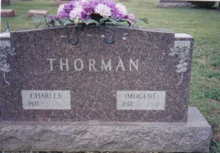THORMAN, CHARLES - Highland County, Ohio | CHARLES THORMAN - Ohio Gravestone Photos