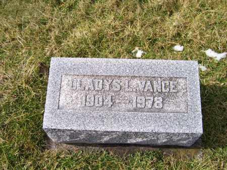 VANCE, GLADYS L. - Highland County, Ohio | GLADYS L. VANCE - Ohio Gravestone Photos