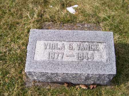 VANCE, VIOLA G. - Highland County, Ohio | VIOLA G. VANCE - Ohio Gravestone Photos
