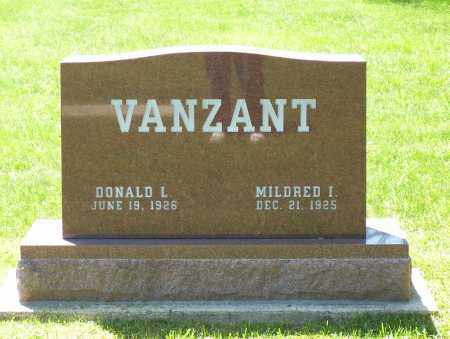 VANZANT, MILDRED I. - Highland County, Ohio | MILDRED I. VANZANT - Ohio Gravestone Photos