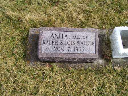 WALKER, ANITA - Highland County, Ohio | ANITA WALKER - Ohio Gravestone Photos
