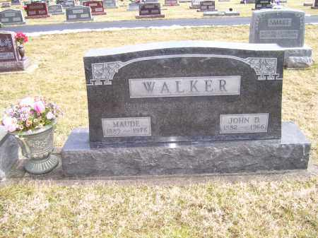 WALKER, MAUDE - Highland County, Ohio | MAUDE WALKER - Ohio Gravestone Photos