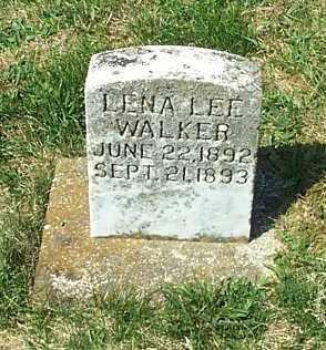 WALKER, LENA LEE - Highland County, Ohio | LENA LEE WALKER - Ohio Gravestone Photos