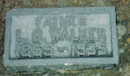 WALKER, L.D. - Highland County, Ohio | L.D. WALKER - Ohio Gravestone Photos