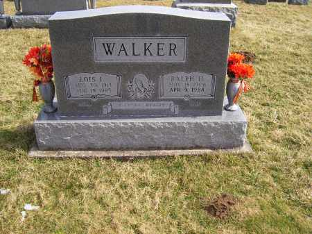 WALKER, RALPH H. - Highland County, Ohio | RALPH H. WALKER - Ohio Gravestone Photos