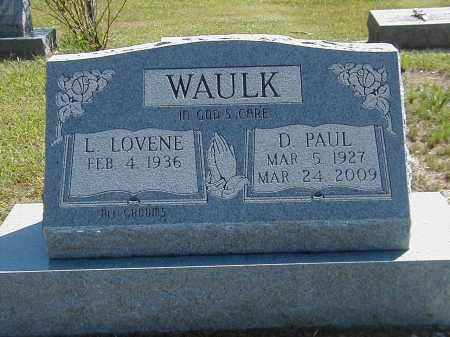 WAULK, D PAUL - Highland County, Ohio | D PAUL WAULK - Ohio Gravestone Photos