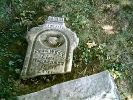 WEST, ENOS - Highland County, Ohio | ENOS WEST - Ohio Gravestone Photos