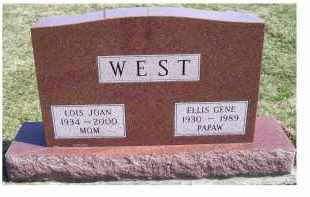 WEST, LOIS JOAN - Highland County, Ohio | LOIS JOAN WEST - Ohio Gravestone Photos
