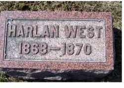 WEST, HARLAN - Highland County, Ohio | HARLAN WEST - Ohio Gravestone Photos