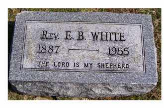 WHITE, E. B. - Highland County, Ohio | E. B. WHITE - Ohio Gravestone Photos