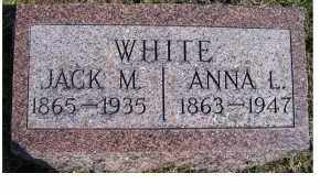 WHITE, ANNA L. - Highland County, Ohio | ANNA L. WHITE - Ohio Gravestone Photos