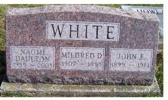WHITE, MILDRED D. - Highland County, Ohio | MILDRED D. WHITE - Ohio Gravestone Photos