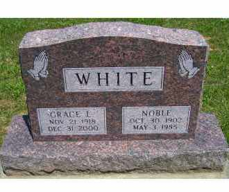 WHITE, NOBLE - Highland County, Ohio | NOBLE WHITE - Ohio Gravestone Photos