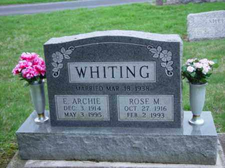 WHITING, ROSE MARGARET - Highland County, Ohio | ROSE MARGARET WHITING - Ohio Gravestone Photos