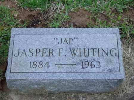WHITING, JASPER EARL - Highland County, Ohio | JASPER EARL WHITING - Ohio Gravestone Photos