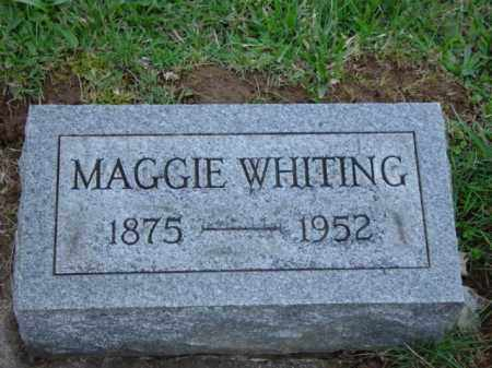 "CLUTTER WHITING, MARGARET ""MAGGIE"" BELL - Highland County, Ohio 