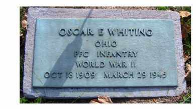 WHITING, OSCAR E. - Highland County, Ohio | OSCAR E. WHITING - Ohio Gravestone Photos