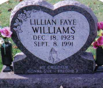 WILLIAMS, LILLIAN FAYE - Highland County, Ohio | LILLIAN FAYE WILLIAMS - Ohio Gravestone Photos