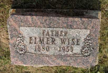 WISE, ELMER - Highland County, Ohio | ELMER WISE - Ohio Gravestone Photos