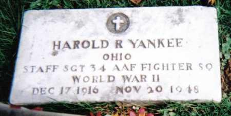 YANKEE, HAROLD R. - Highland County, Ohio | HAROLD R. YANKEE - Ohio Gravestone Photos