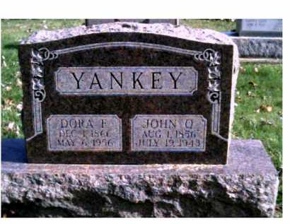 YANKEY, DORA F. - Highland County, Ohio | DORA F. YANKEY - Ohio Gravestone Photos