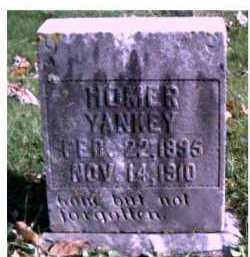 YANKEY, HOMER - Highland County, Ohio | HOMER YANKEY - Ohio Gravestone Photos
