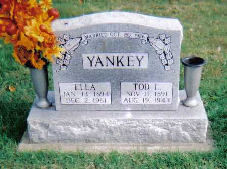 YANKEY, ELLA - Highland County, Ohio | ELLA YANKEY - Ohio Gravestone Photos