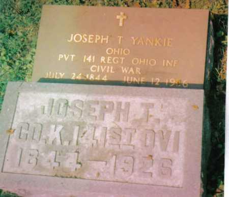 YANKIE, JOSEPH T. - Highland County, Ohio | JOSEPH T. YANKIE - Ohio Gravestone Photos