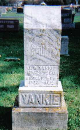 YANKIE, REBECCA E. - Highland County, Ohio | REBECCA E. YANKIE - Ohio Gravestone Photos