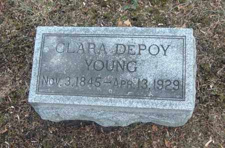 YOUNG, CLARA - Highland County, Ohio | CLARA YOUNG - Ohio Gravestone Photos