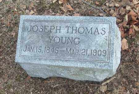 YOUNG, JOSEPH THOMAS - Highland County, Ohio | JOSEPH THOMAS YOUNG - Ohio Gravestone Photos