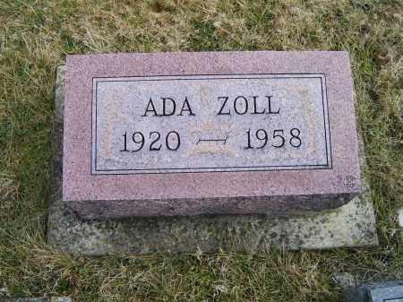 ZOLL, ADA - Highland County, Ohio | ADA ZOLL - Ohio Gravestone Photos