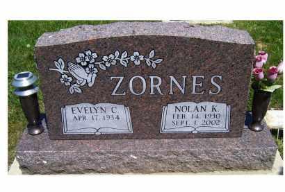 ZORNES, EVELYN C. - Highland County, Ohio | EVELYN C. ZORNES - Ohio Gravestone Photos
