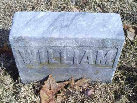 UNKNOWN, WILLIAM - Hocking County, Ohio | WILLIAM UNKNOWN - Ohio Gravestone Photos