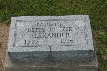 ALEXANDER, BETTY - Hocking County, Ohio | BETTY ALEXANDER - Ohio Gravestone Photos