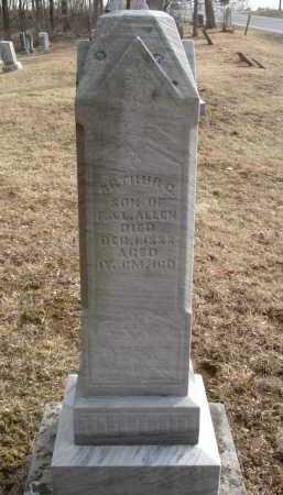 ALLEN, ARTHUR G. - Hocking County, Ohio | ARTHUR G. ALLEN - Ohio Gravestone Photos