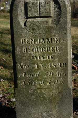 BEOUGHER, BENJAMIN - Hocking County, Ohio | BENJAMIN BEOUGHER - Ohio Gravestone Photos