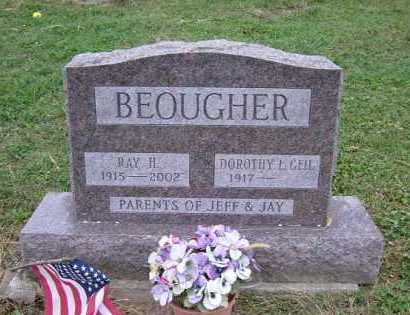 BEOUGHER, RAY H. - Hocking County, Ohio | RAY H. BEOUGHER - Ohio Gravestone Photos