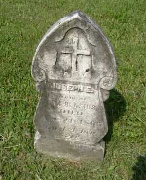 BLASIUS, JOSEPH E. - Hocking County, Ohio | JOSEPH E. BLASIUS - Ohio Gravestone Photos