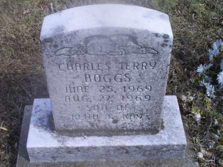 BOGGS, CHARLES TERRY - Hocking County, Ohio | CHARLES TERRY BOGGS - Ohio Gravestone Photos