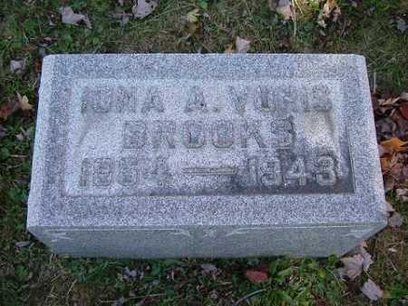 BROOKS, IONA ANNIE - Hocking County, Ohio | IONA ANNIE BROOKS - Ohio Gravestone Photos