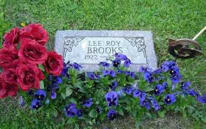 BROOKS, LEE ROY - Hocking County, Ohio | LEE ROY BROOKS - Ohio Gravestone Photos