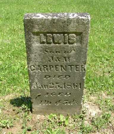 CARPENTER, LEWIS - Hocking County, Ohio | LEWIS CARPENTER - Ohio Gravestone Photos