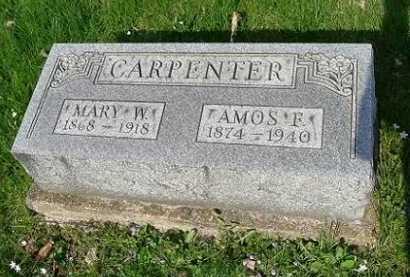 CARPENTER, AMOS F. - Hocking County, Ohio | AMOS F. CARPENTER - Ohio Gravestone Photos